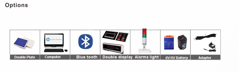 JCS-B LED Weighing Scale with Alarm Light 03